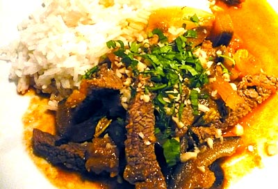 Muslim beef curry