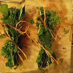 3. Bouquet garni ready for the roasting dish