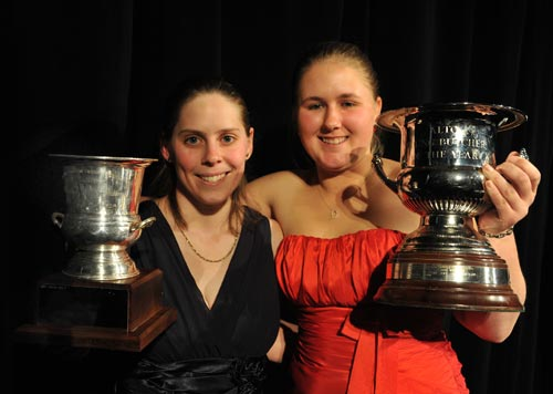 Women are named as New Zealand's best young butchers