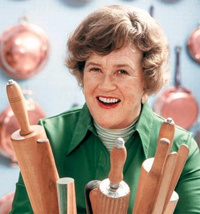 Julia Child's kitchen a no meat zone