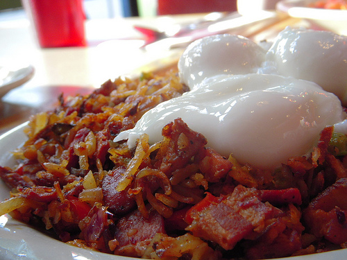 New York-style corned beef hash
