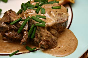 How to cook Steak Diane